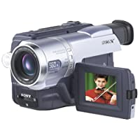 """Sony DCRTRV140 Digital8 Camcorder with 2.5"""" LCD, Video Light & USB Streaming (Discontinued by Manufacturer)"""