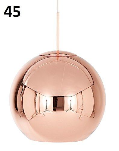 Tom Dixon - Copper 45 cobre colgante lámpara ø 45 cm: Amazon ...