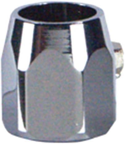 Ultima Hexagonal Chrome Worm Gear Round Hose Clamp for 5//16 or 3//8 Hose