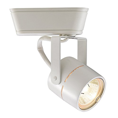 WAC Lighting JHT-809-WT J Series Low Voltage Track Head, (Head Monorail Kit)