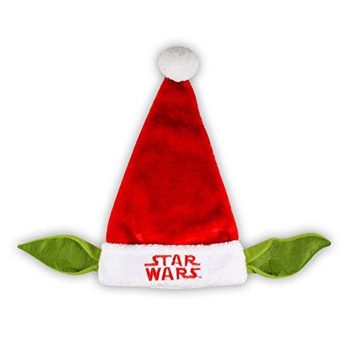 Grupo Ruz Star Wars Yoda Santa Hat 20 In -