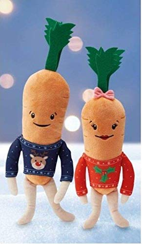 Kevin the carrot and Katie the carrot