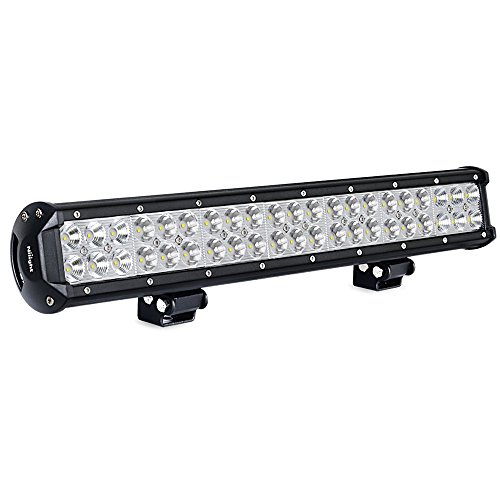 Nilight Light Bar 20 Inch 126w LED Lights Spot Flood Combo Led Bar Off Road Lights Driving Lights Led Fog Lights Jeep Lights Boat Lighting LED Work Light