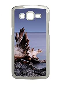 Beach roots PC Case Cover for Samsung Grand 2 and Samsung Grand 7106 Transparent