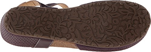 Lartiste Di Spring Step Womens Lizzie Sandalo Flat Purple