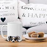 MUGBREW Merle Aussie Australian Shepherd Dog Ceramic Coffee Gift Mug Tea Cup, 11 OZ 12