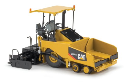 Norscot Cat AP600D Asphalt Paver with Canopy (1:50 Scale), Caterpillar Yellow by Norscot (Image #1)