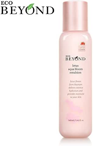 Skin Lotion [Eco Beyond] Lotus Aqua Bloom Face Emulsion, Mico Hyaluronic Acid, Natural Ingredient 160mL/5.41Oz