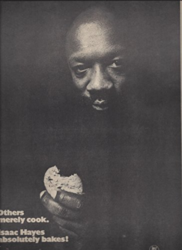 --PRINT AD-- With Isaac Hayes For Chocolate Chip 1975 Album Promo Chocolate Chip Album