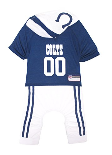 NFL Indianapolis Colts Pet Onesie, Size Large. Cutest Pet Outfit for Any Pet, Any Occasion! ()