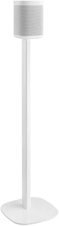 Cavus Floor Stand Suitable for Sonos Speakers White, ONE Single