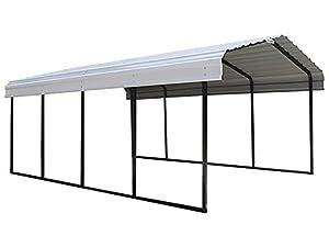 Amazon.com: Arrow 29 Gauge Carport, Galvanized Steel Roof
