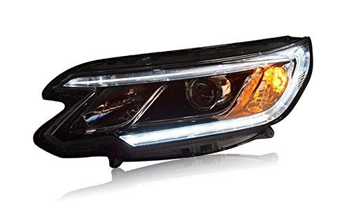 GOWE Car Styling For Honda CRV headlights 2015 2016 head lamp LED DRL front light Bi-Xenon Lens xenon HID Color Temperature:4300k;Wattage:35w 2