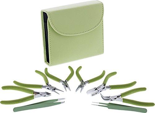 Fashion Color Plier Clutch light Olive