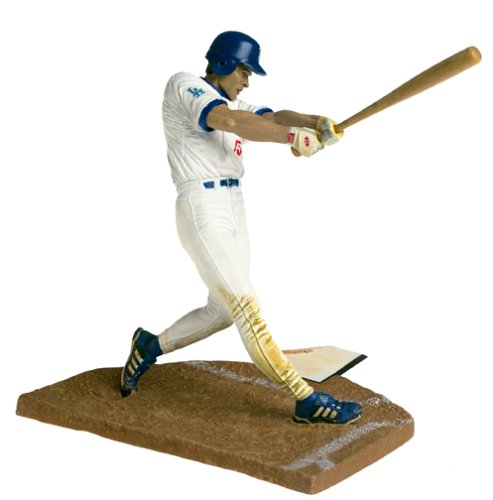 McFarlane Toys MLB Sports Picks Series 1 Action Figure Shawn Green (Los Angeles Dodgers) White Jersey ()