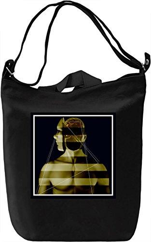 GOLDEN BOY Borsa Giornaliera Canvas Canvas Day Bag| 100% Premium Cotton Canvas| DTG Printing|