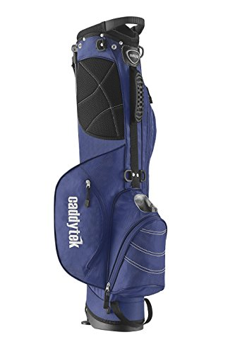 CaddyTek Deluxe Sunday Carry Bag with Stand - Blue by CaddyTek (Image #2)