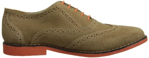Chatham Marine Carnaby - Zapatos de cordones brogue Hombre Beige/Orange