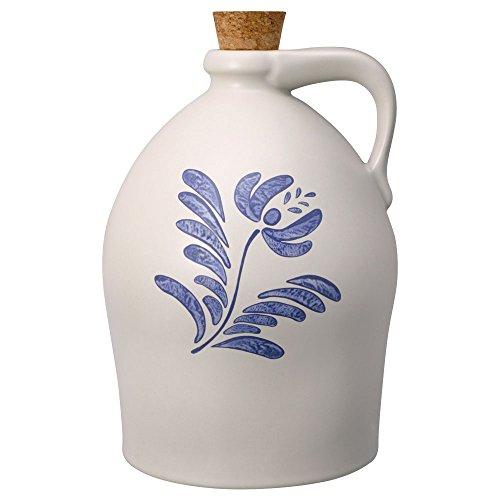 crock jug with cork - 2