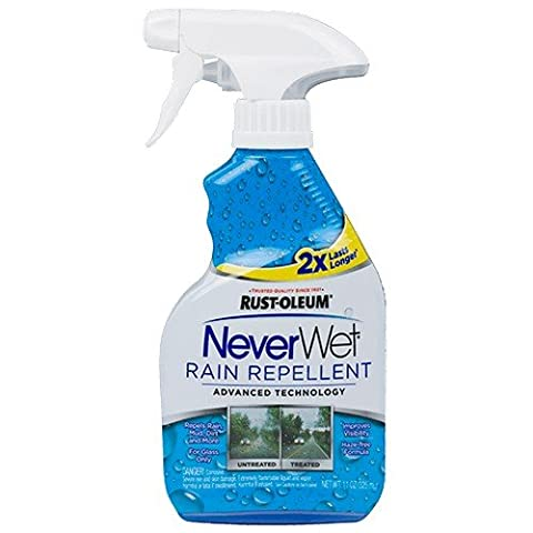 Rust-Oleum 287337 Neverwet Rain Repellent 11 Oz (Rain Repellant Spray)