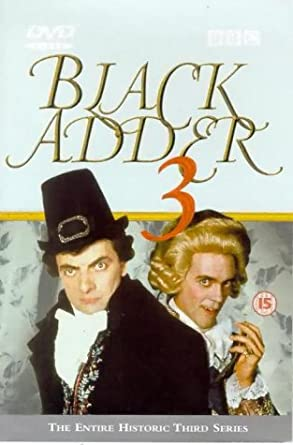 Picture of BBCDVD 1039 Black adder 3 by artist Richard Curtis / Ben Elton from the BBC dvds - Records and Tapes library