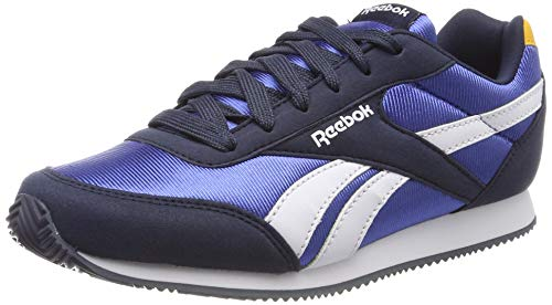 whi retro Royal Chaussures Gold Navy De Running coll Royal coll Fille Multicolore Reebok 000 Cljog 2 trek WZqxfwd8T8