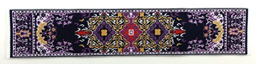 Melody Jane Dolls House Small Turkish Woven Carpet Runner Miniature Rug 1:12 Accessory 44