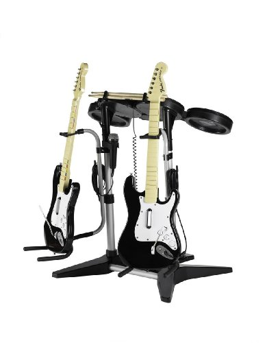 guitar-stand-for-rock-band-drum-set
