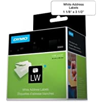 DYMO 520CT ADDRESS LABEL 1-1/8 X 3-1/2 LABELS / 30320 /