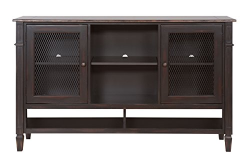 Ocean Harbor Naples Deluxe TV Stand - Fully Assembled