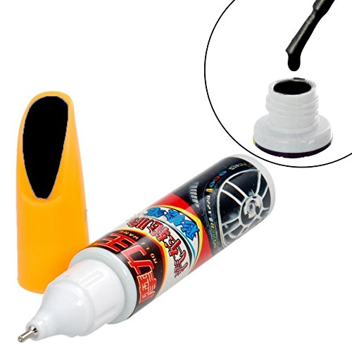 stylo / pinceau de retouche peinture noir pour carrosserie product image