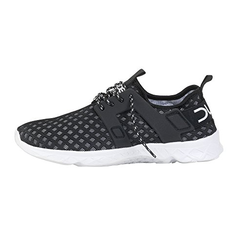 Dude Shoes Women's Mistral Ladies Black Airflow Trainer Black