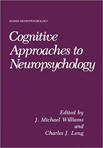 Cognitive Approaches to Neuropsychology: Human Neuropsychology (NATO Asi Series)