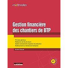 GESTION FINANCIÈRE DES CHANTIERS DE BTP