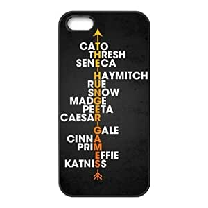 iphone5 5s Cover , The Hunger Games Cell phone case Black for iphone5 5s - KS888-124860