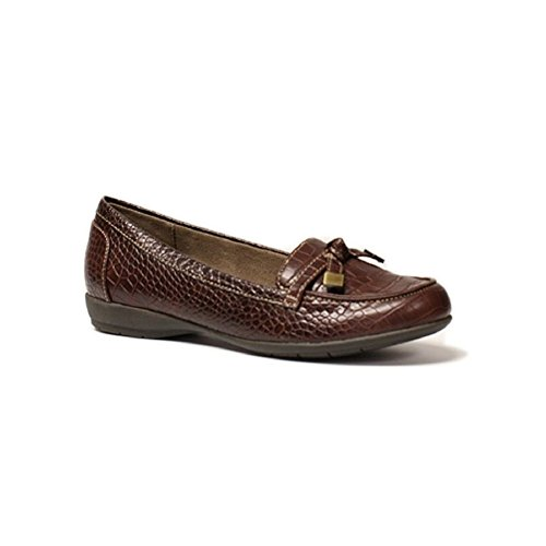 Dark Brown Croc - 9
