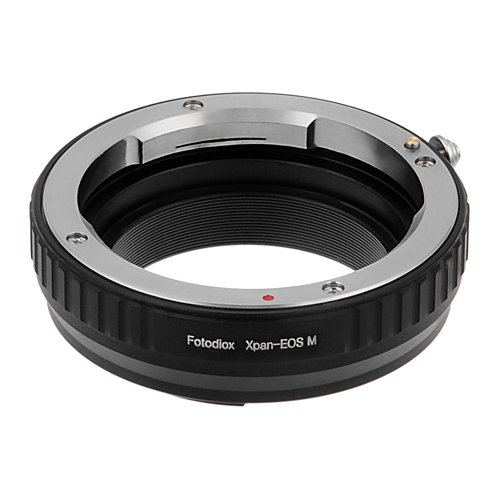 Fotodiox Lens Mount Adapter - Hasselblad X-Pan 35mm Rangefinder Lens to Canon EOS M (EF-M Mount) Mirrorless Camera Body
