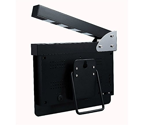 FidgetFidget Movie Slate Clapper Board LED Digital Desk Clock with Calendar Alarm AC power