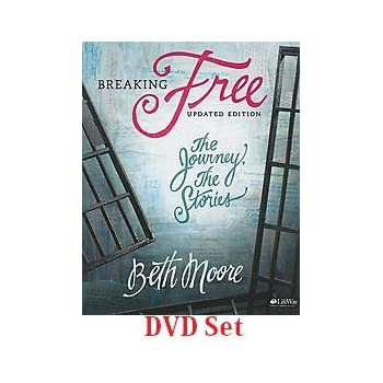 Beth Moore Breaking Free: The Journey, the Stories DVD Set (DVD-ROM)