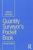 Quantity Surveyor's Pocket Book (Routledge Pocket Books)