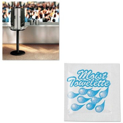 KITDXESSBASE08SFC023803 - Value Kit - Dixie SmartStock Cutlery Dispenser (DXESSBASE08) and NatureHouse Fresh Nap Moist Towelettes (SFC023803)