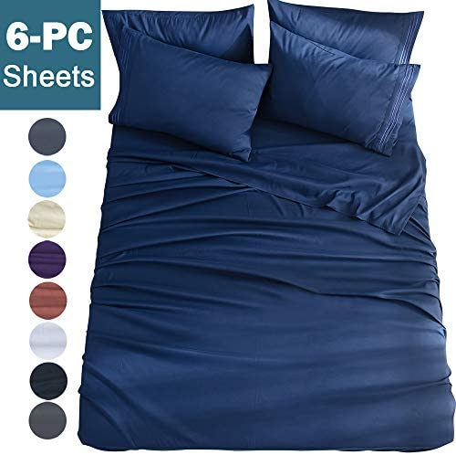 Shilucheng 6 Piece Microfiber Comforterble Hypoallergenic product image