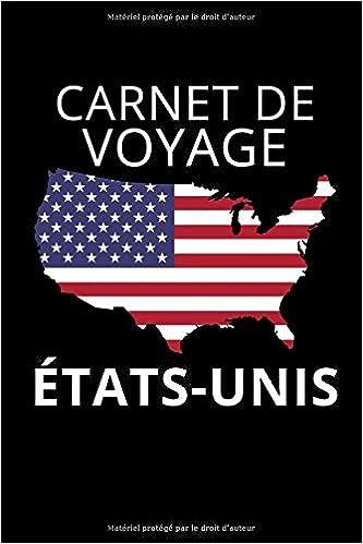 Idee Cadeau Etats Unis.Amazon Fr Carnet De Voyage Etats Unis Journal De Voyage