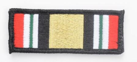 Tactical Iraq Campaign Medal Ribbon Morale (Iraq Patch)