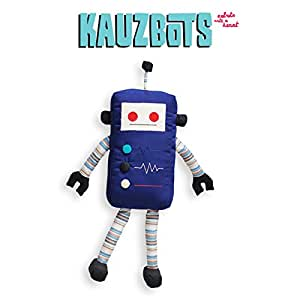 KAUZBOTS - Plush Robots Plushies Baby Stuffed Animals - Each Purchase Helps Build Fresh Water Wells (KRUZ)