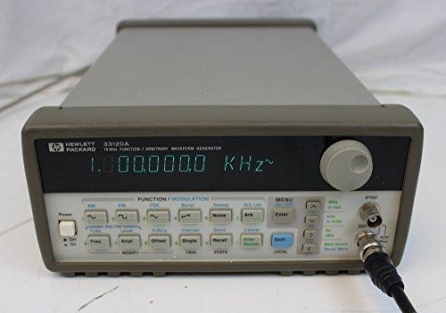 Packard Hewlett Generator Function - HP 33120A 15 MHz Function Waveform Generator