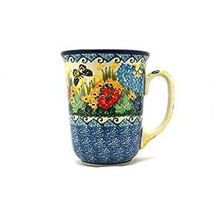 Polish Pottery Mug – 16 oz. Bistro – Unikat Signature U4592