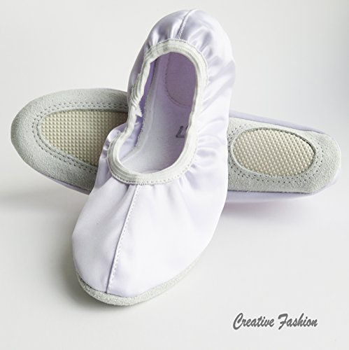 gimnasia Zapatillas de ballet Wolke satén Weiß