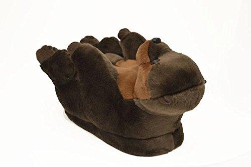 mujeres Happy premium pie animales completo Styles de para Nuevo de y hombres Nutria pantuflas de Feet 50 r81Bxr7