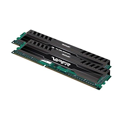 Patriot Memory Performance Viper 3 DDR3 8GB Memory Kit PC3-15000 (1866MHZ) PV38G186C0K Black Mamba